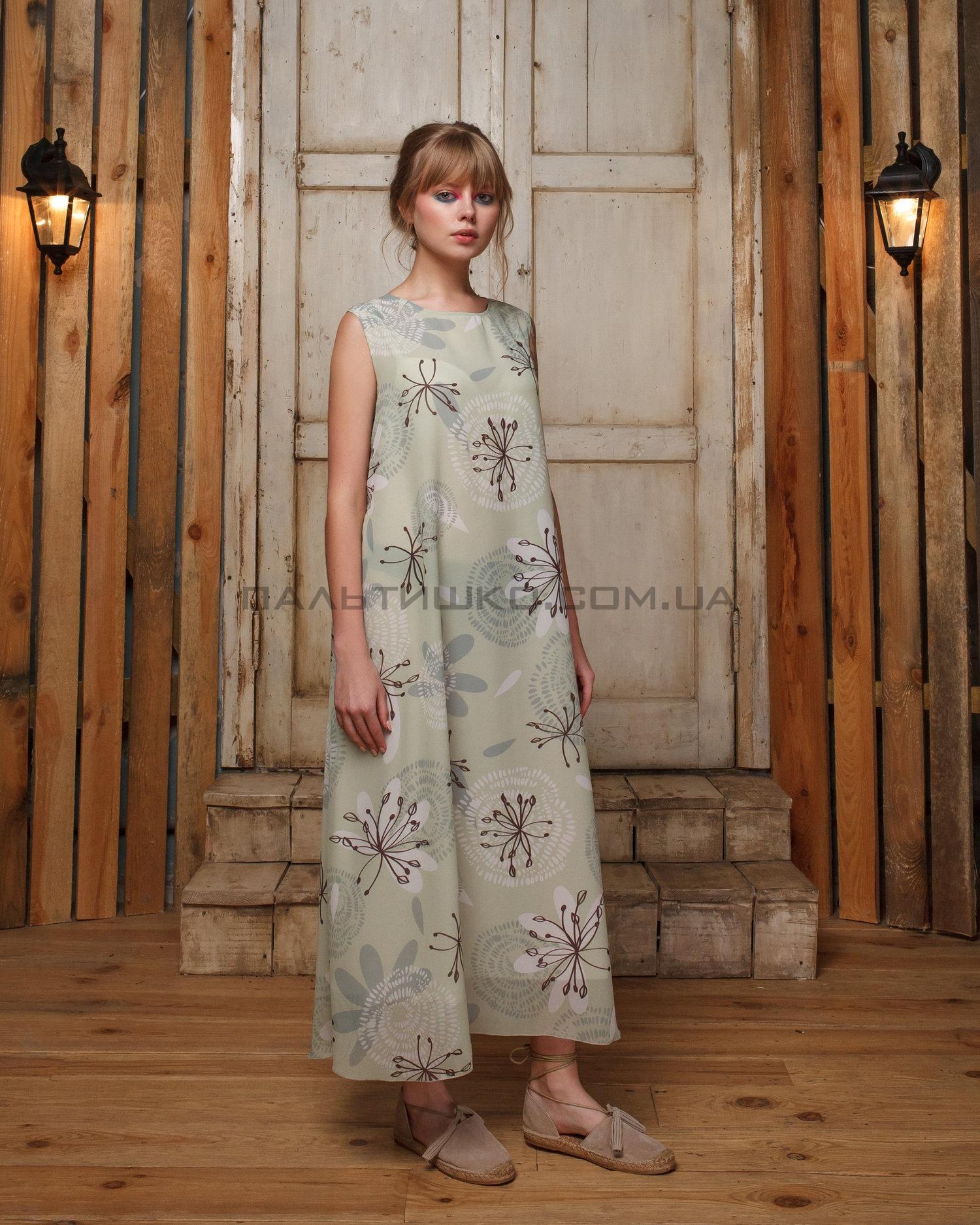 Платье летний принт