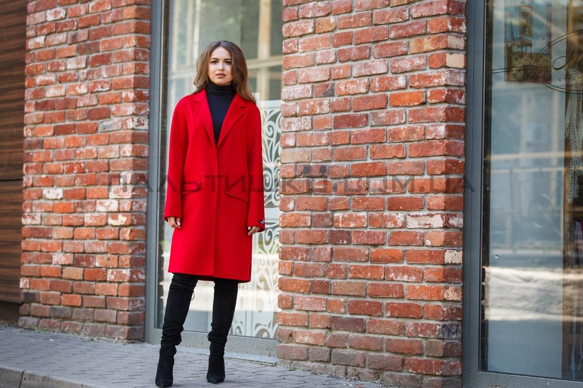 Осеннее пальто, из шерсти Virgin Wool